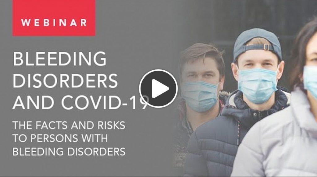 WFH Webinar · Bleeding disorders and COVID-19