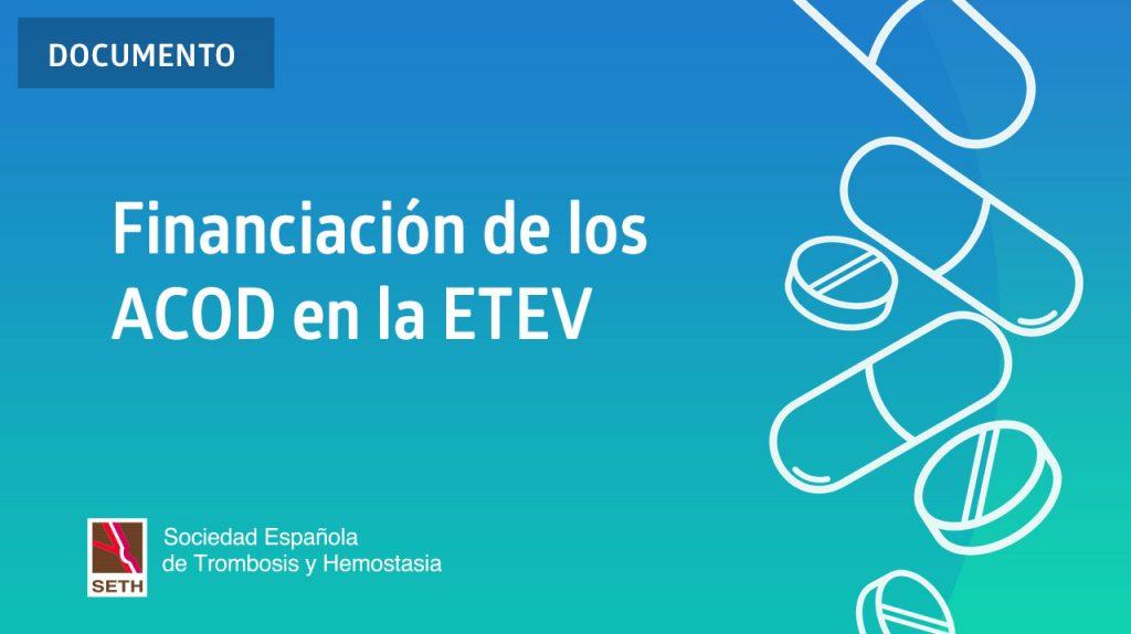 Financiación de los ACOD en la ETEV