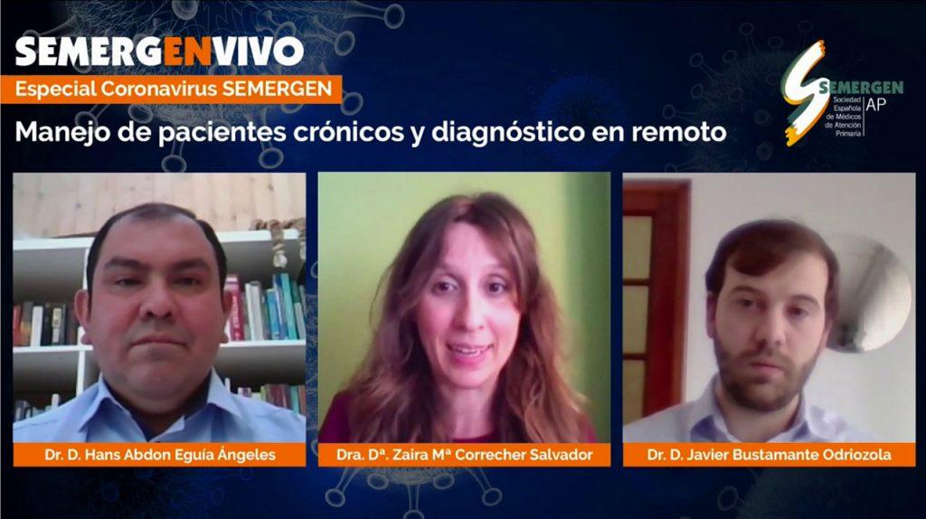 Manejo de pacientes crónicos y diagnóstico en remoto